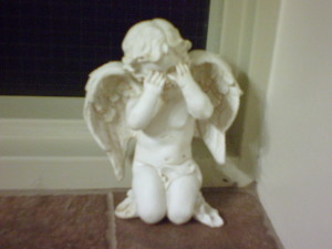 A Little Weeping Angel